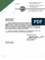 Nevada TSA audit 2003