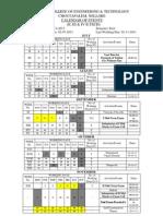 calendar of events plan