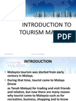 Introduction To Tourism Malaysia
