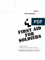 US Army First Aid Manual Part1