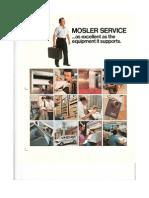 Mosler Service Brochure