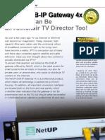 NetUP IPTV  Brochure From Sat Mgz