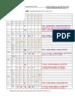 Calendar de diploma 2012-2013