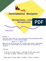 Tutorial 5 Electrograv Coulomtry Amperometry