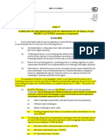 Guideline on demonstration of additionality for small scale project