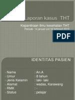 Laporan Case THT