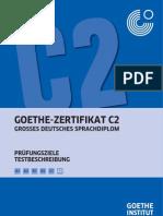 Goethe Zertifikat C2