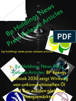 Bp Holdings News Press Release Articles