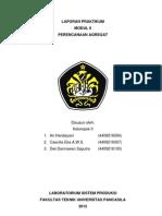 Laporan Praktikum Sistem Produksi - Perencanaan Agregat