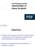 Fundamentals of Business Analysis