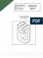 sx500+ service manual