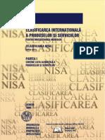 Clasificare NISA