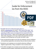 A Useful Guide for Enforcement Policies from the EEOC