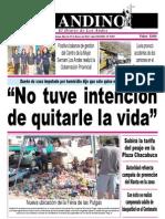 Diario El Andino - Martes 22 de Enero de 2013