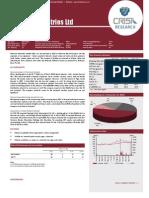 Research  Report Britannia Industries Ltd