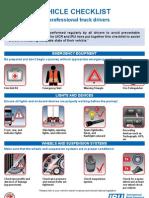 Vehicle Checklist