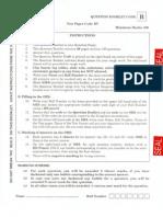 IIT JAM BioTechnology Sample Paper 1