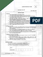 ISO-8859-1__IIT JAM BioTechnology Sample Paper 5