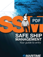SSM - Safe ship management