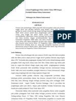 Analisis Terhadap Kasus Penghilangan Paksa Aktivis Tahun 1998 Dengan Persfektif Hukum Pidana Internaional