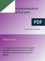 Structuri patrimoniale de activ şi pasiv