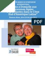 Soins à domicile aux personnes agées dépendantes dans le cône Sud d'Amérique Latine