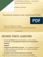 STIM-Sistemul de transport ionic transmembranar