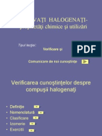 Derivatii halogenati