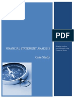 Financial Analysis case study