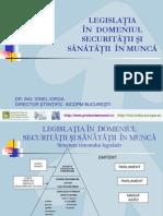 Legislatia in Domeniul Ssm - Ionel Iorga