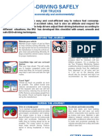 Eco-driving checklist for truck drivers