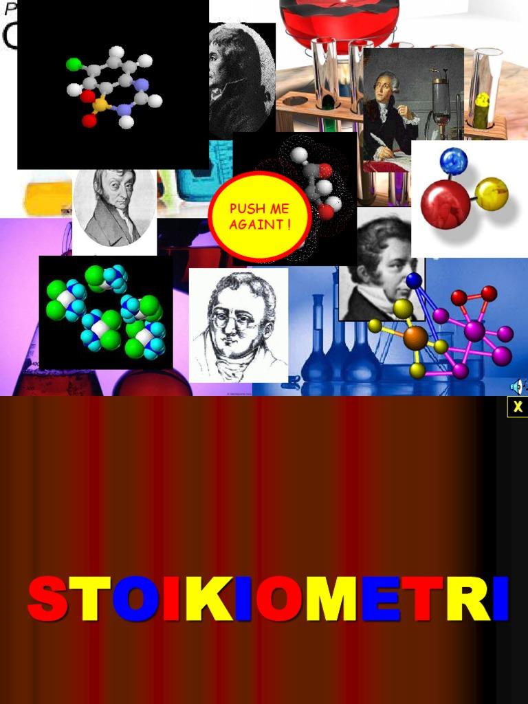 Kimia dasar stoikiometri. Ppt.