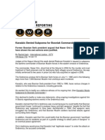 Karadzic Denied Subpoena for Bosniak Commander