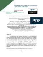 IMPEDANCE SPECTROSCOPIC STUDIES ON PANI/CEO2 COMPOSITES