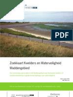 Zoekkaart Kwelders en Waterveiligheid Waddengebied.