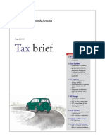Tax Brief August 2010