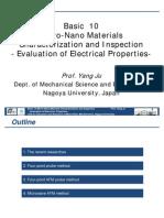 Basics of Electrical Conductivity