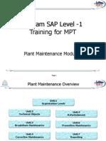 SAP PM Level-1 Material