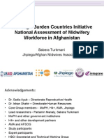 H4+ High Burden Countries Initiative National Assessment of Midwifery Workforce in Afghanistan