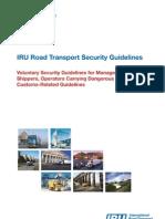 IRU Road Goods Transport Security Guidelines