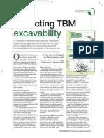 TBM Excavability