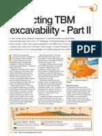 TBM excavability II
