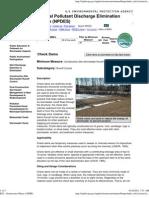 EPA - Stormwater Menu of BMPs