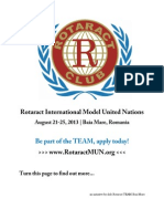 Rotaract International Model United Nations