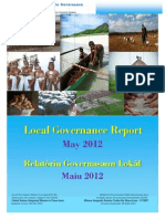 East-Timor Local Governance Report 2012