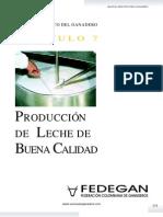 Cap 7 Produccion de Leche de Calidad Manual Practico Del Ganadero
