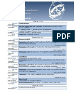 2013 ATLIS Conference Schedule