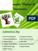 national programmes on environment