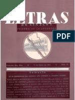 Letras de Sinaloa No. 34 Enero de 1953