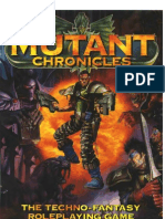 mutant chronicles 1st edition